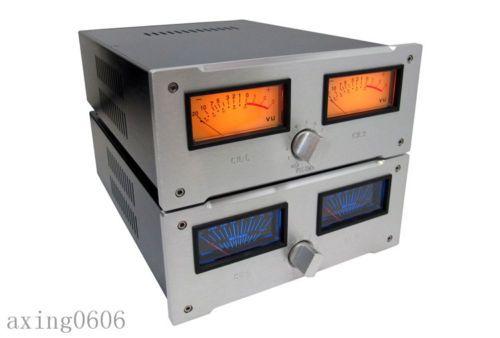 VU-Meter-Full-aluminum-preamplifier-chassis-AMP-case-Enclosure-Box-DIY