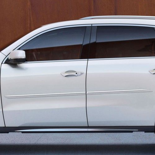 Acura MDX Painted Body Side Molding 2016