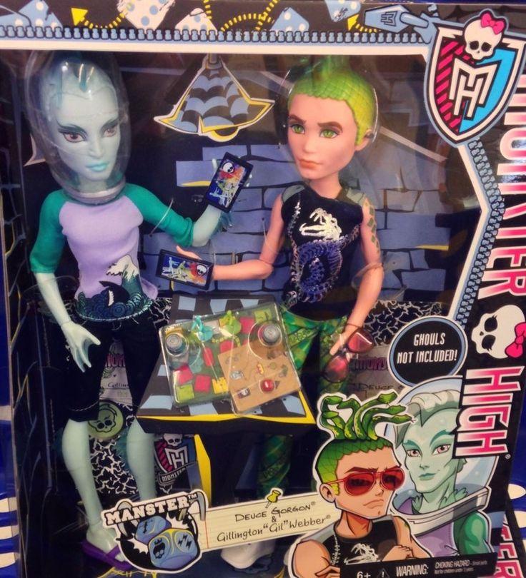 26 best Monster High Boy Dolls images on Pinterest  Boy doll