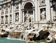 Fontana Di Trevi, Roma, Agua, Estatua