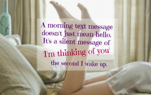 For Flirty Him Morning Text Messages Good number