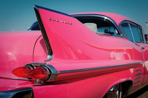luxury Pink Cadillac - am pretty sure this is a 1957 model. Also a Mary Kay cosmetic gift for selling the most...