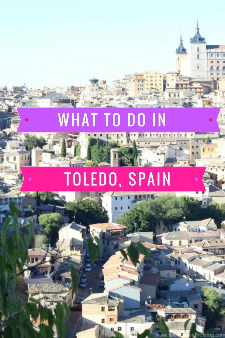 TOLEDO. Such a beautiful city to visit! If you´re traveling to Madrid, try to schedule time in to visit this small city for a day as it is just 1 hour by car, train or bus.