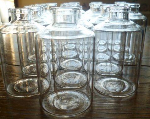kleine Glasflaschen von Loufettas Sammelsurium auf DaWanda.com