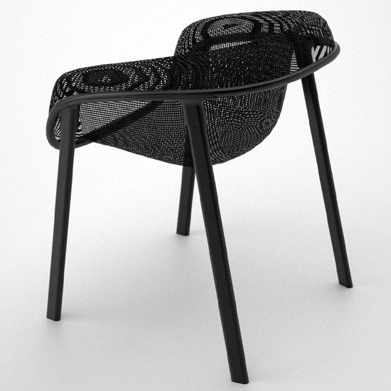 tom dixon: mesh chair for magis