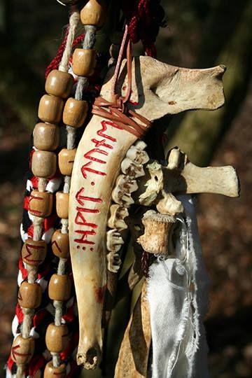 shaman sash detail