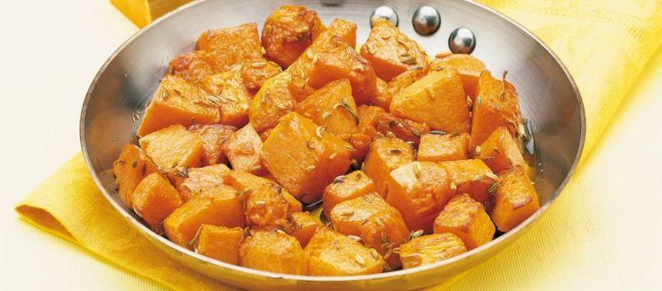 Zucca gialla al finocchio selvatico ricetta