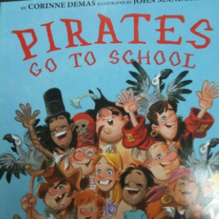 """Yo ho, ho, we're so cool. We are pirates and we love school!"" - this is a great book for those of you with a pirate theme in your classroom."