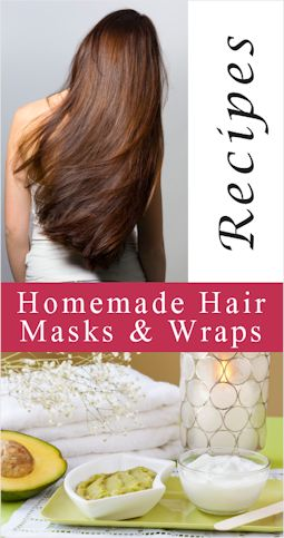 Homemade Hair Masks & Wraps