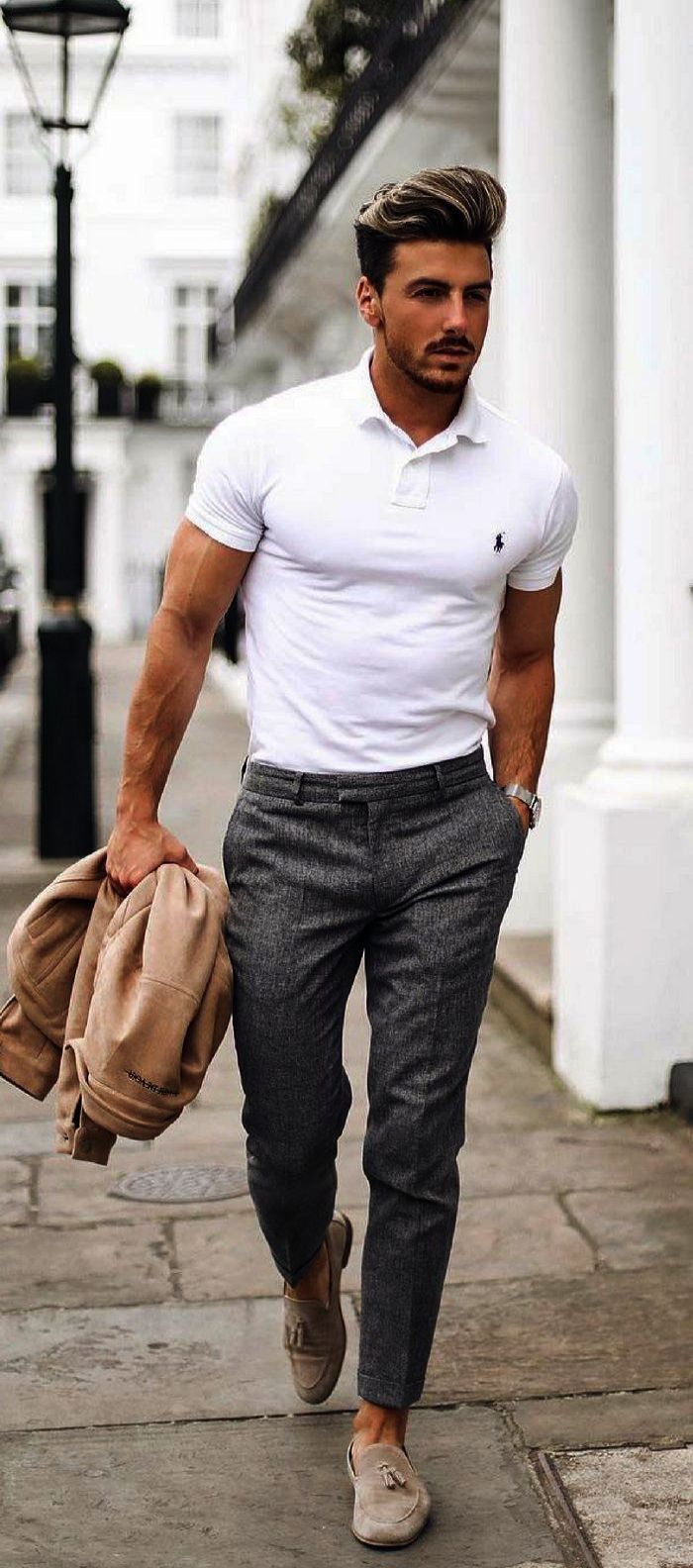 Summer With Business Outfit A White Featuring Casual Rowanrow y6fgb7