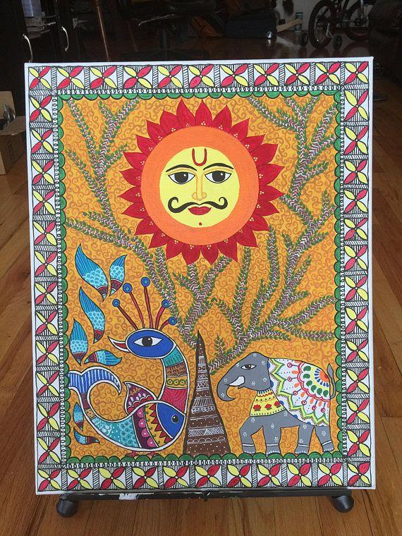 Madhubani Painting:Importance of SunFree Shipping