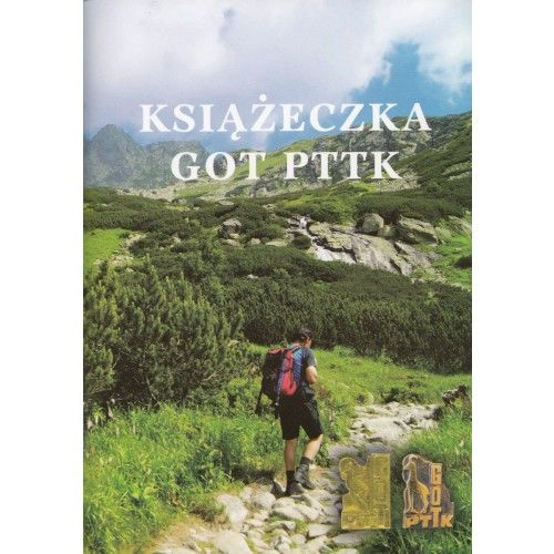 Książeczka GOT PTTK książka tylko 4,40zł w ArtTravel.pl