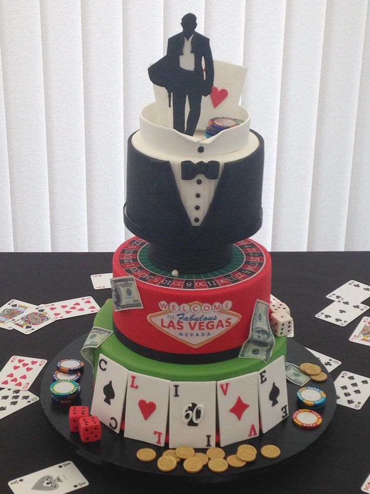 25 Best Ideas About Casino Cakes On Pinterest Las Vegas