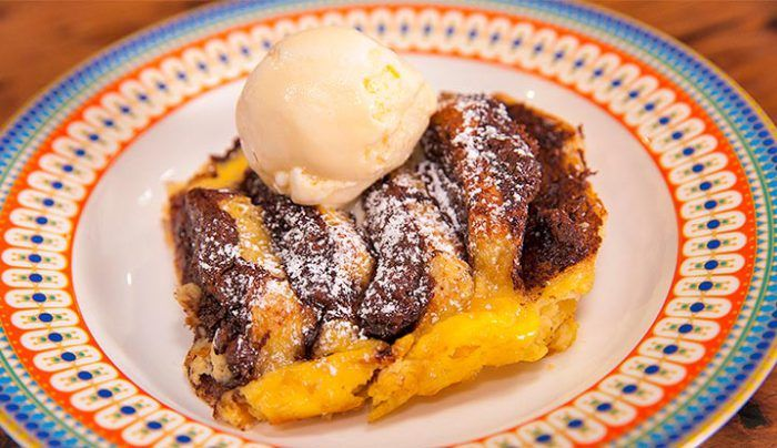 Chocolate Bread and Butter Pudding - Good Chef Bad Chef