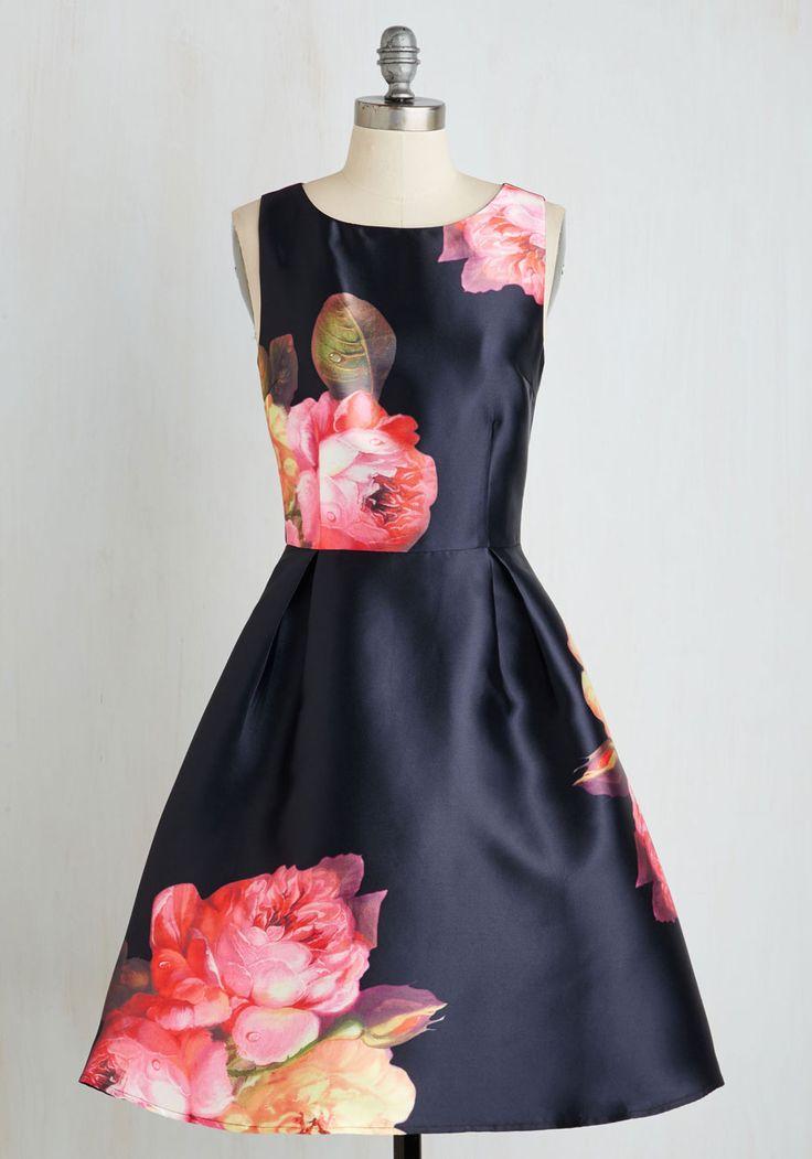 Slow Dance Serenades Dress   Mod Retro Vintage Dresses   ModCloth.com