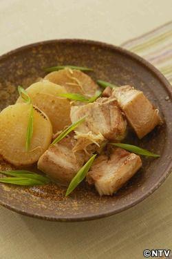 もこみち流 豚肉と大根のしょうが煮