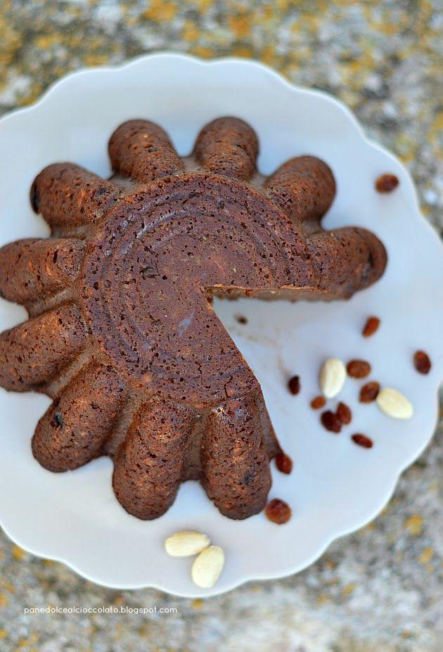 PANEDOLCEALCIOCCOLATO: Pane Dolce al Cioccolato con latte di Mandorle e Pane di Matera!