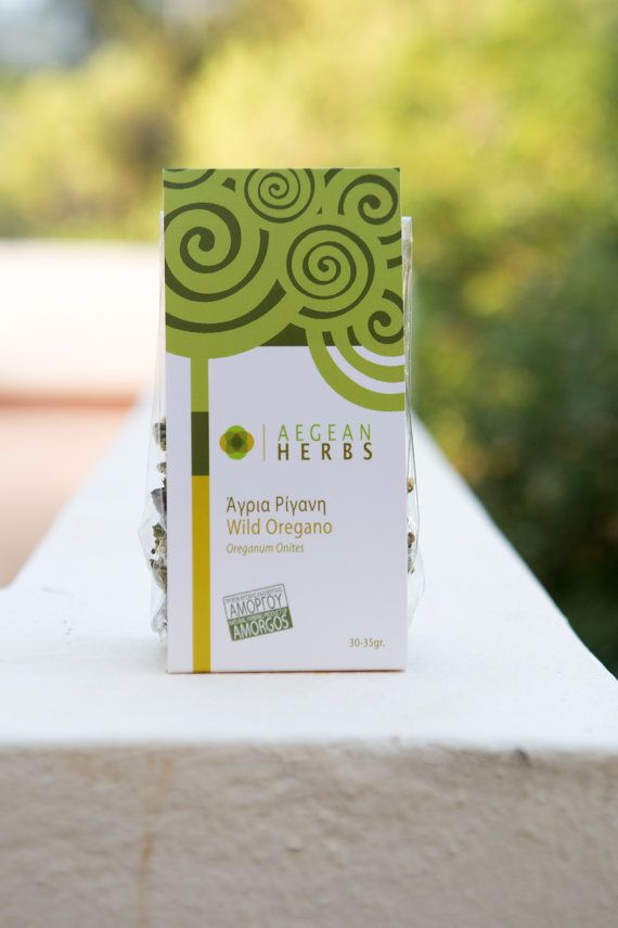 Wild Oregano from Greece. Greek Dried Oregano. Herbs form Greece. Sachet of 30 gr