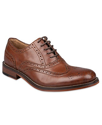 Steve Madden Shoes, Ethin2 Wingtip Oxfords - Mens Shoes - Macy's