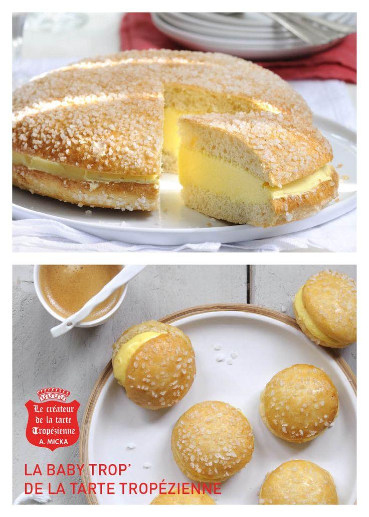 Tarte tropezienne herve cuisine arts culinaires magiques - Herve cuisine tarte citron ...