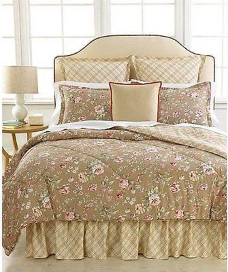 Ralph Lauren Standard Pillow Shams. Never Used. Margate Pattern.NEW