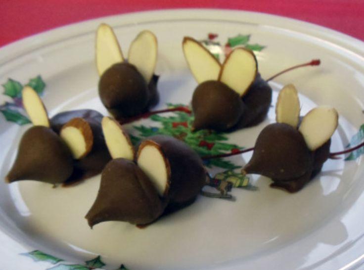 Chocolate Mice Recipe — Dishmaps