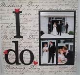 scrapbook wedding pages - Bing Images