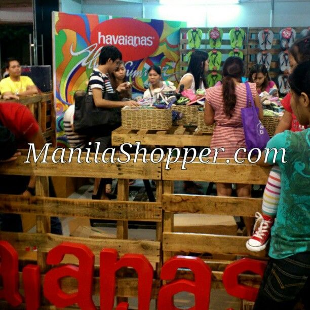 Havaianas Sale up to 40% at BPI Big Outlet Sale 2012, SMX MOA