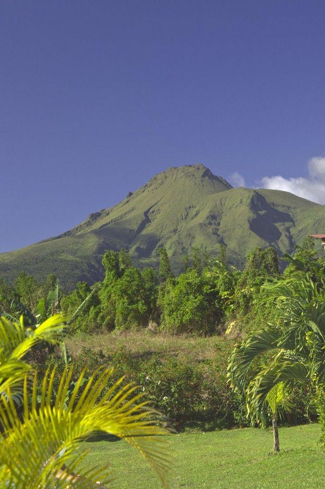 Montagne pelée. Saint Pierre. Martinique. FWI