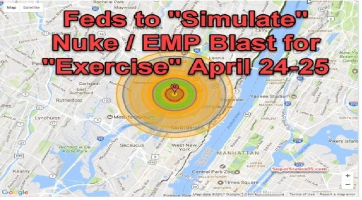 A Joint Operation, code named Gotham Shield is scheduled for Apr. 24 –26. The premise of this simulated crisis will be the detonation of a 10,000-ton nuclear device in the air over New Jersey. Butmany agencies use varying dates! The Exercise has probably already started on April 18, 2017 and will last until May 5, …