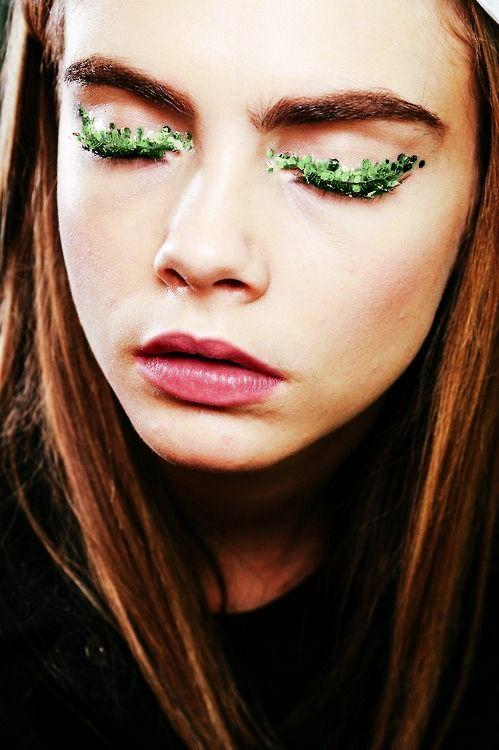 Green eyes | Avon Australia. Fun idea for St. Patrick's Day!