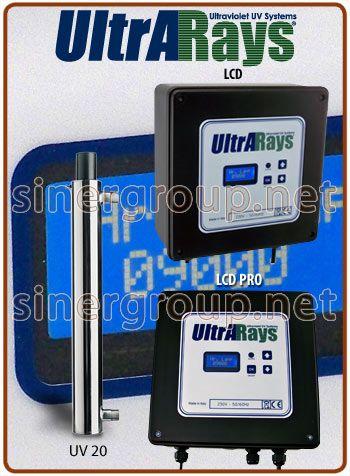 I debatterizzatori UV serie UltrARays sono stati progettati appositamente per distruggere i batteri dannosi e i virus presenti nell' acqua. Il loro funzionamento si basa su un principio fisico che e garanzia di affidabilita: l'emissione di radiazione ultravioletta a corta lunghezza d'onda.