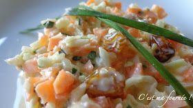 C'est ma fournée !: Coleslaw.....just perfect !