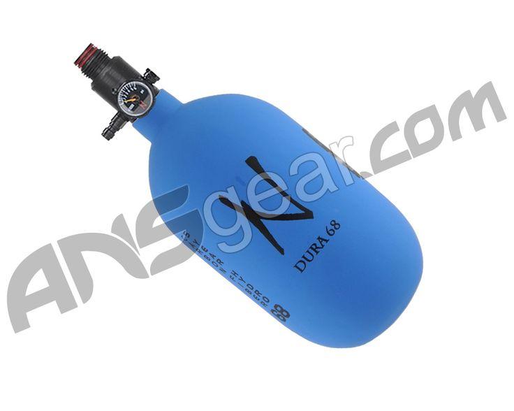 Ninja Dura Carbon Fiber Air Tank w/ Adjustable Regulator - 68/4500 - Blue
