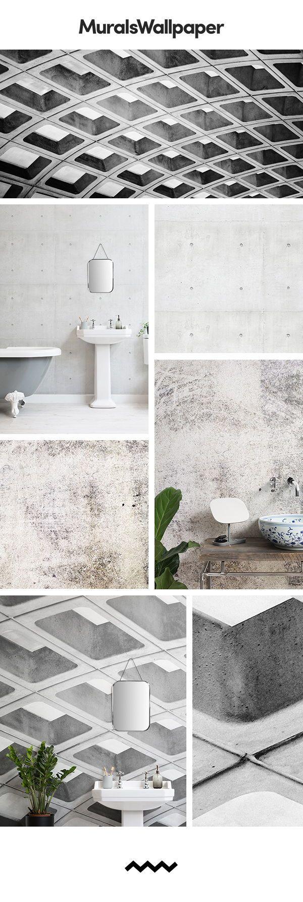 grau bauernhof badezimmer ideen mit rustikaler beton. Black Bedroom Furniture Sets. Home Design Ideas