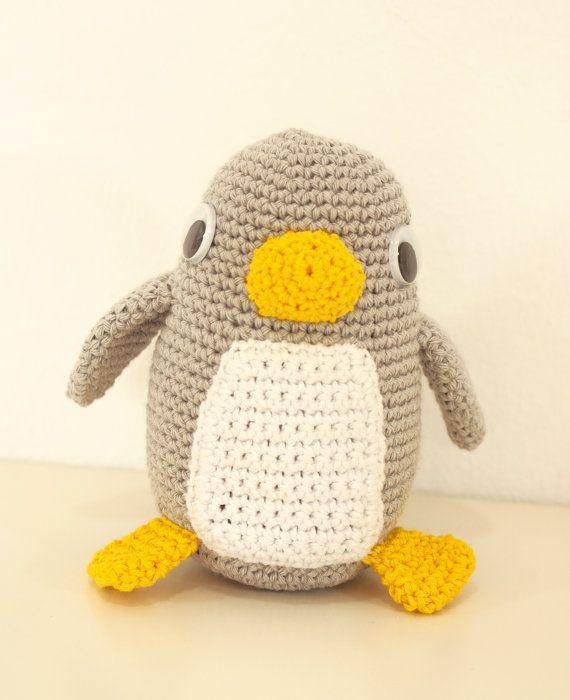 Patrón ganchillo pinguino