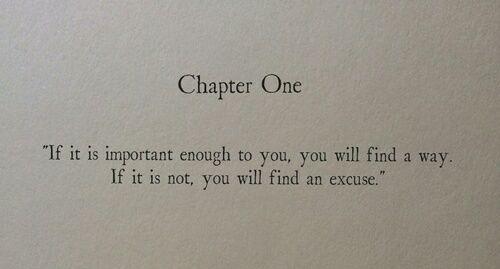 """""""Se isso for muito importante para você…"""
