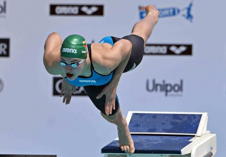 (Video Interviews) Ruta Meilutyte, Adam Peaty And Others Speak at Edinburgh International - Swimming World News