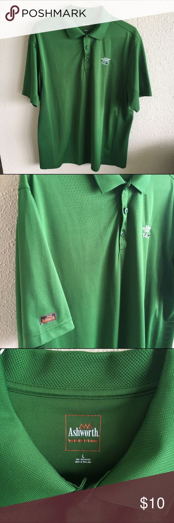 Ashworth Golf Shirt Men's golf polo shirt. Excellent condition!  All men's clothes are Buy 2 Get 3rd Free! Simply add to Bundle and submit an offer! Shirts Polos