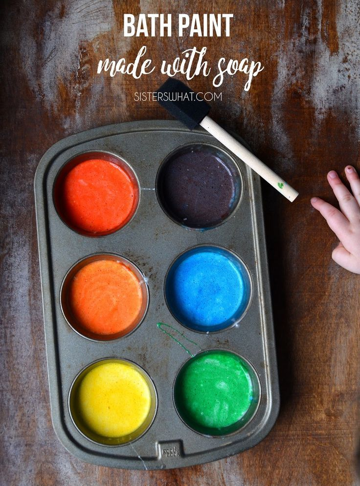 Bath Paint Cool Things To Do Bath Paint Diy Crafts For Kids