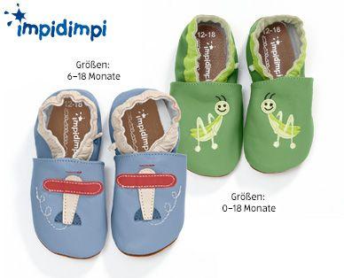 IMPIDIMPI® Baby-Krabbelschuhe