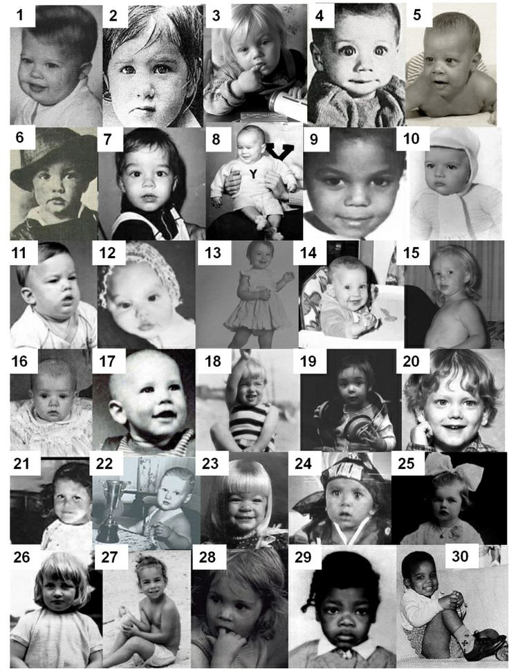 Another board of baby celeb pics with no names pretty easy to guess
