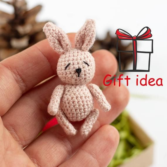 Mini Rabbit Amigurumi Accessory - Made to Order – SheepShaved | 570x570
