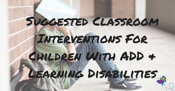 Practical suggestions that can be used in the regular classroom as well as the special education classroom. By looking through a given list of interventions, a teacher will be able to select one or more strategies that are suited to a specific child in a specific environment.