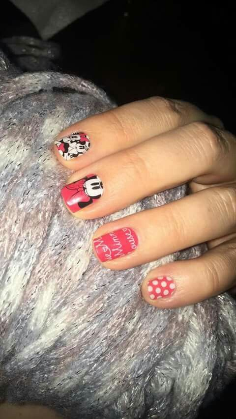 Adorable Disney jamberry wraps and red polka dots wrap. I love this