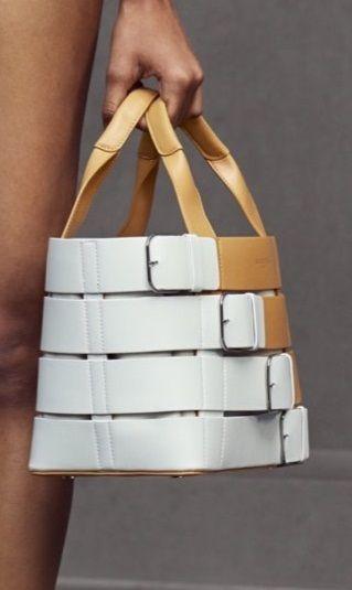 Balenciaga Resort 16: 'belted' handbag.