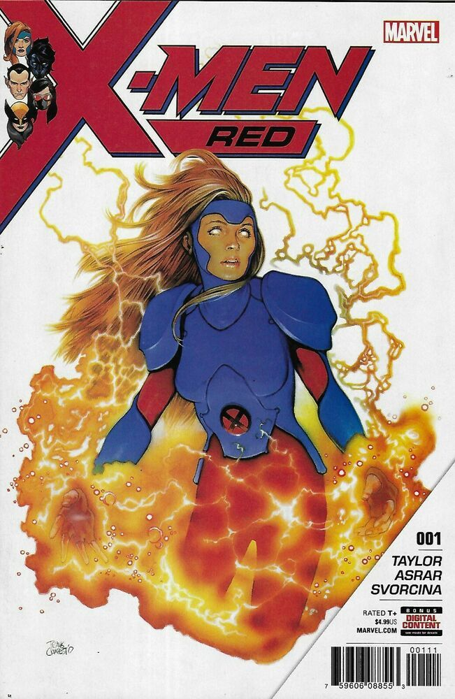 X Men Red Comic 1 Cover A Travis Charest First Print 2018 Tom Taylor Cory Petit In 2020 X Men Comics Travis Charest