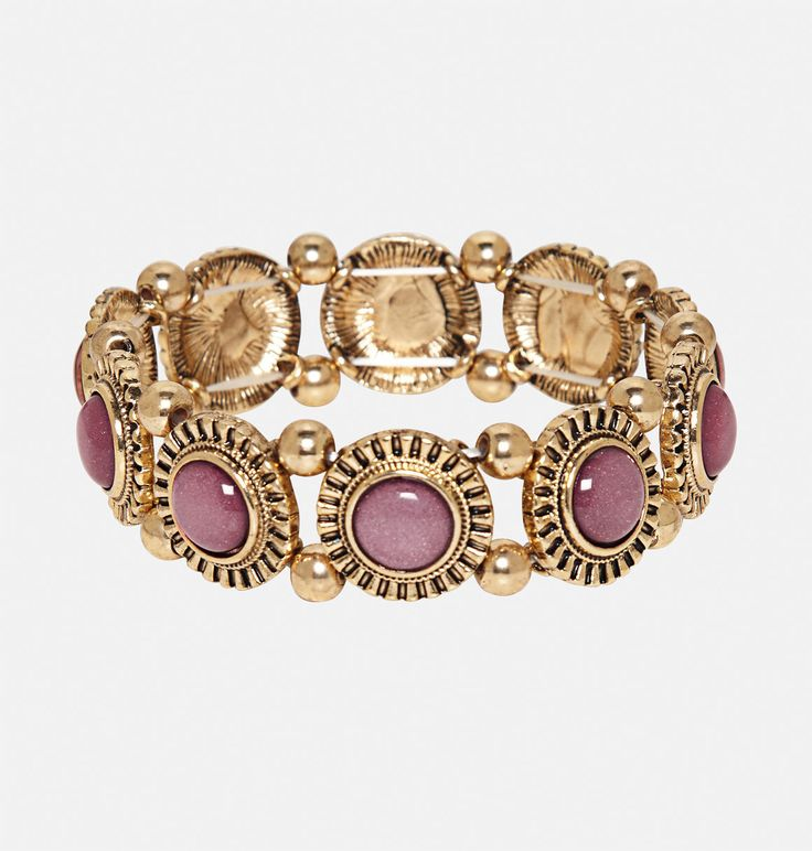 FInd new plus size bracelets with color for your wardrobe like the plus size Glitter Stone Stretch Bracelet available online at avenue.com. Avenue Store