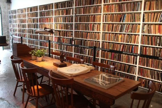 Brooklyn Art Library, housing collection of artist sketchbooks. Best part, you can contribute.
