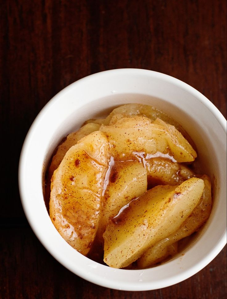Baked Apple Microwave Recipe - 2 PointsPlus Weight Watchers!
